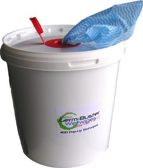 Germbuster Wetwipe Tub