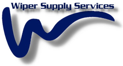 This image is the Wiper Supply Services Ltd wavy line logo, designed by Andrew Farleigh and used on all company branding at www.wipersupply.com